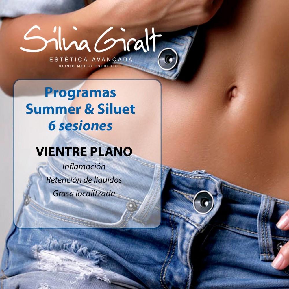 Pack Summer&Siluet vientre plano  6 sesiones