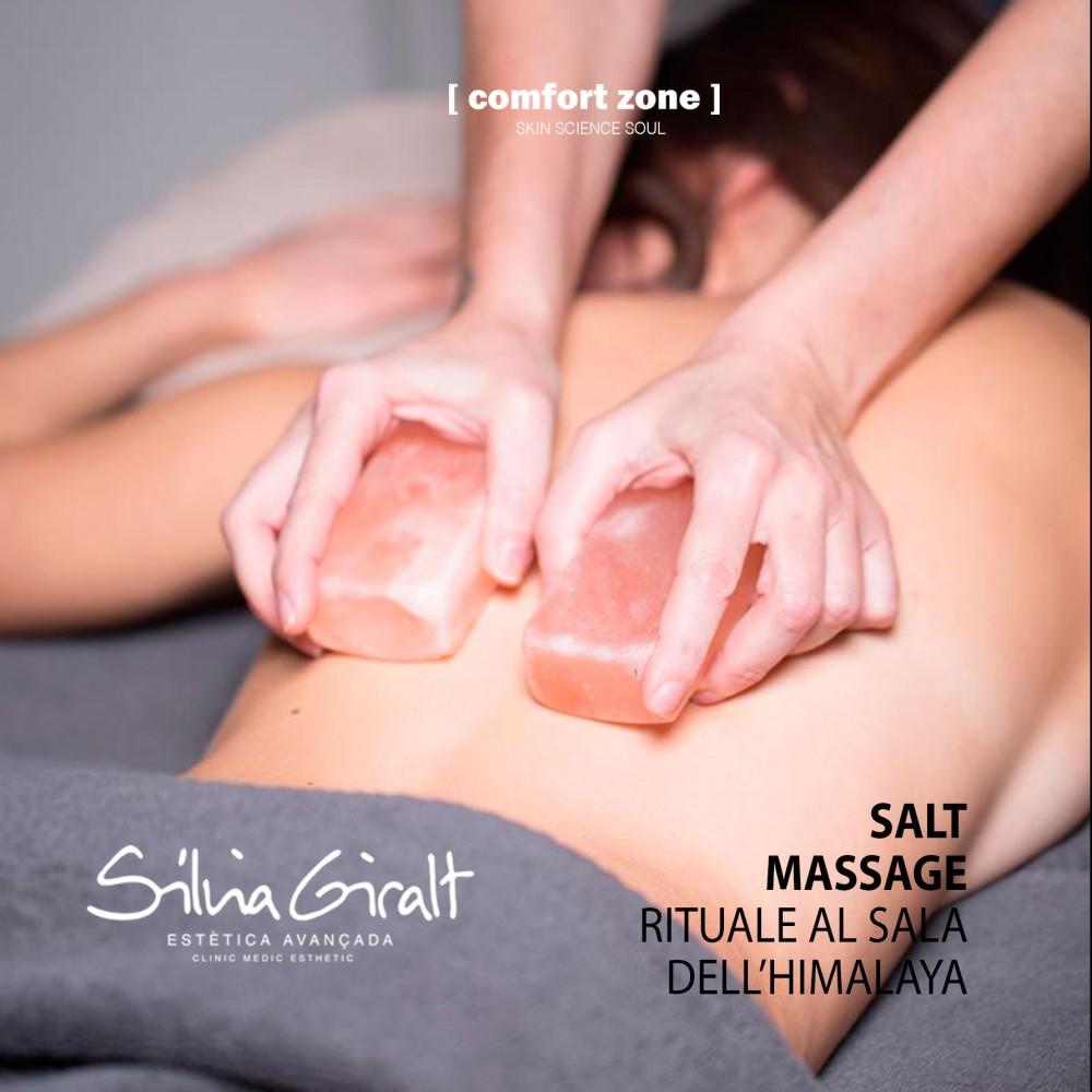 Salt Treatment Massage Ritual