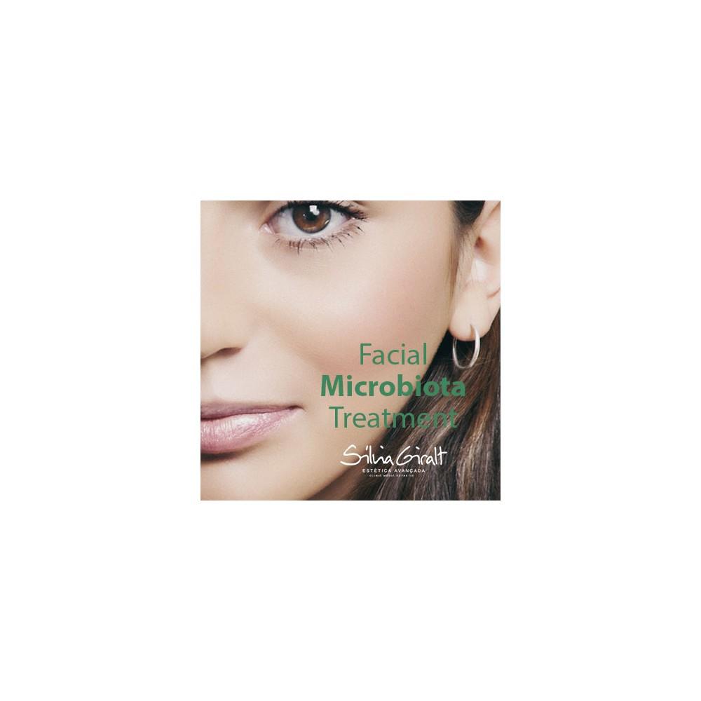 Facial microbiota treatment
