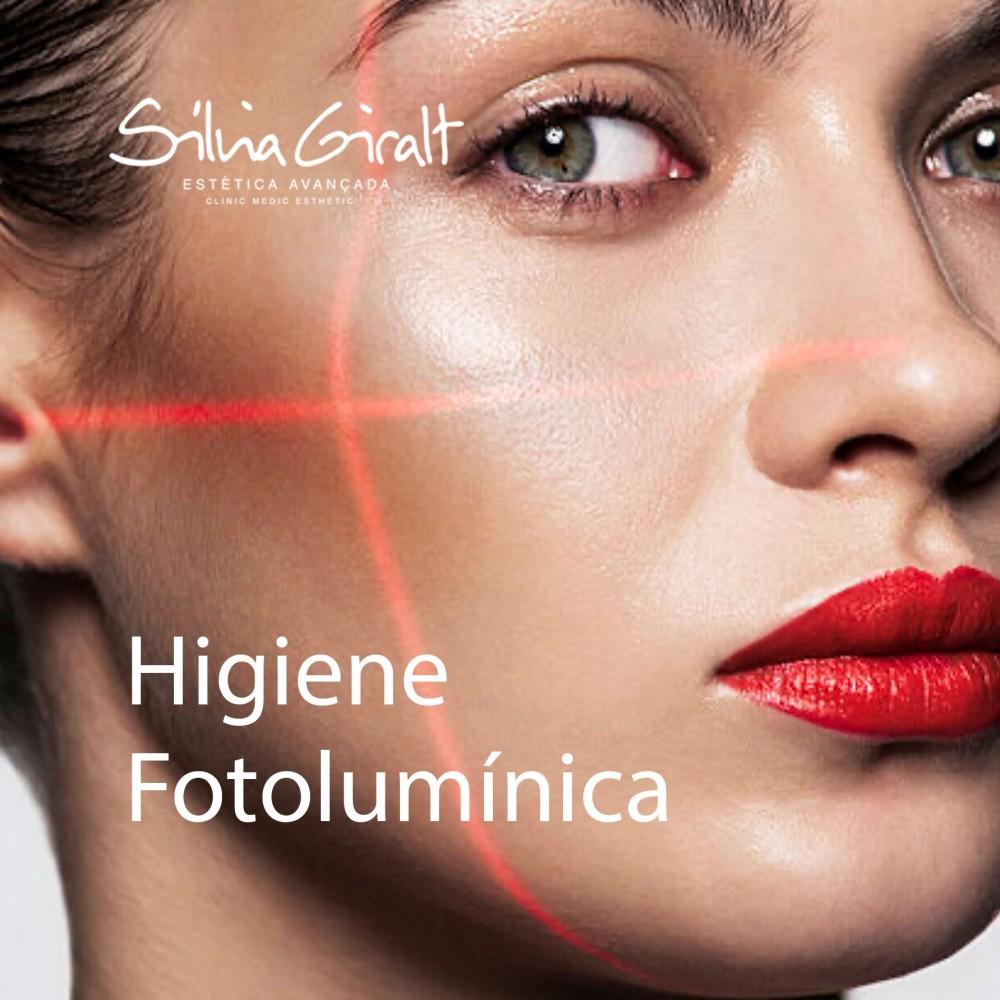 Higiene fotolumínica